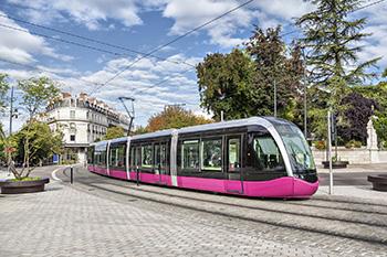 Tram de la ville de Dijon