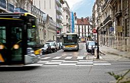 bus Irisbus, ville de Grenoble