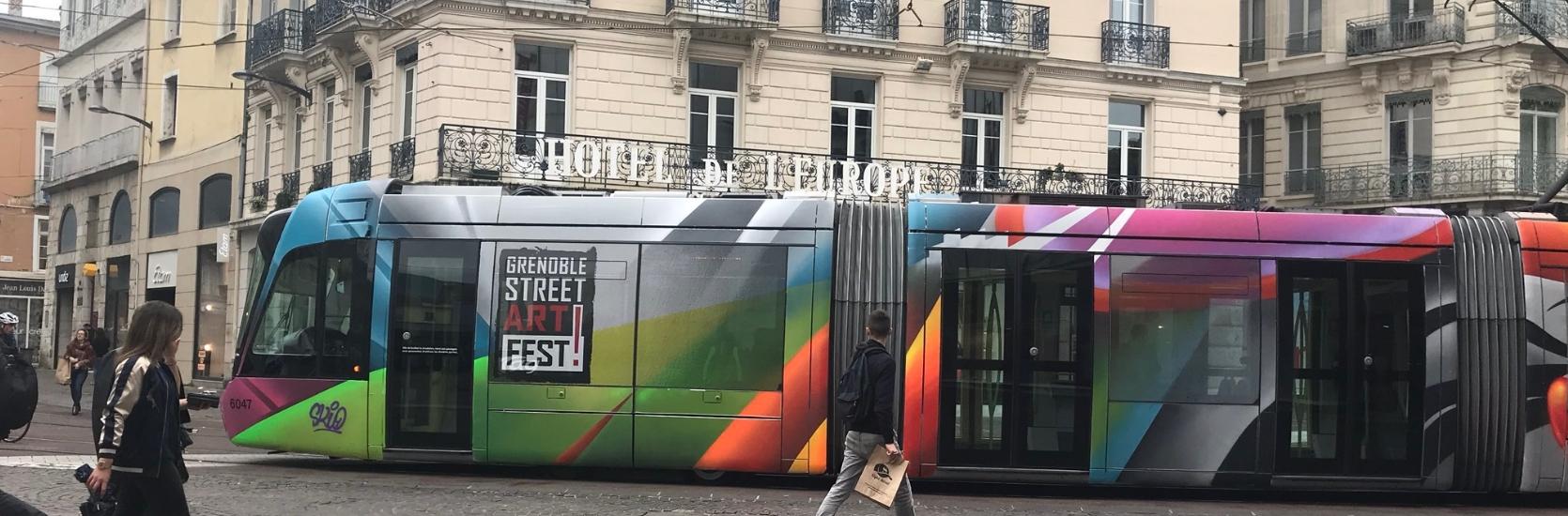 Tram-StreetArtGrenoble2018
